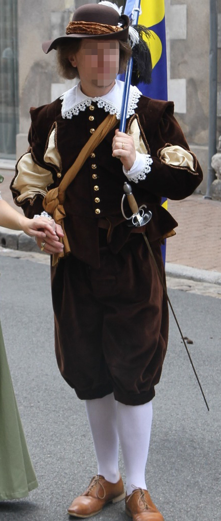 William of Ars' costume