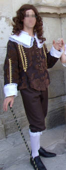 Thumbnail of the Earl of Bridoré's costume