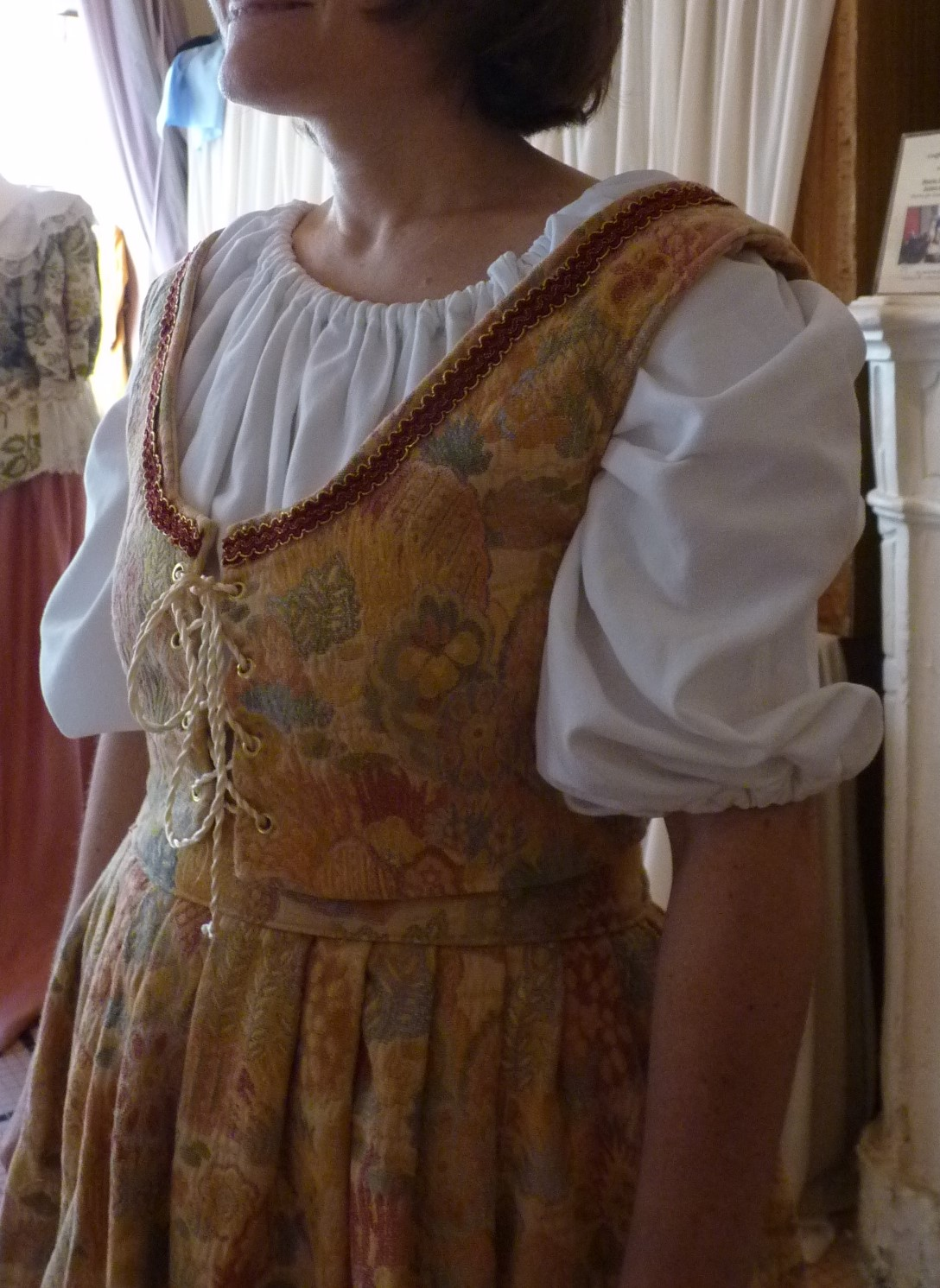 Detail of the Lady Honorime's costume