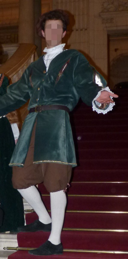 Earl of Lille's costume
