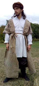 Thumbnail of the Igor Russian peasant's costume
