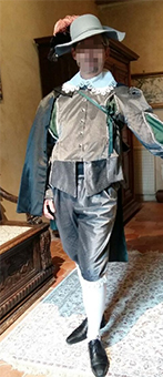 Thumbnail of the Earl of Guiche's costume