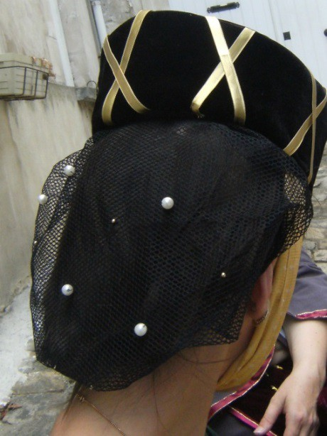Detail of the Lady of the Grand Porte's costume
