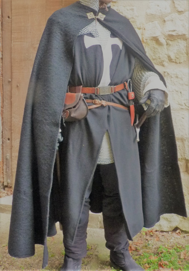 Knight cloak from Middle Ages