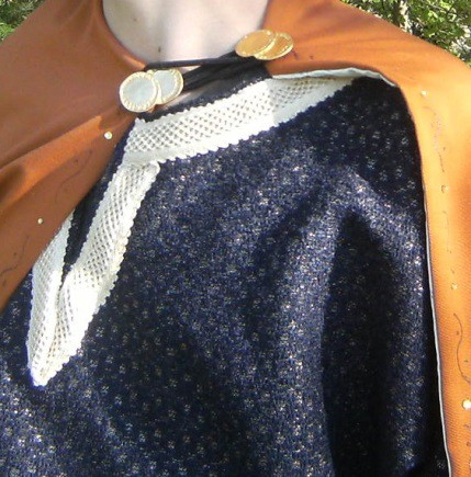 Detail of the Chilperic the Brave's costume