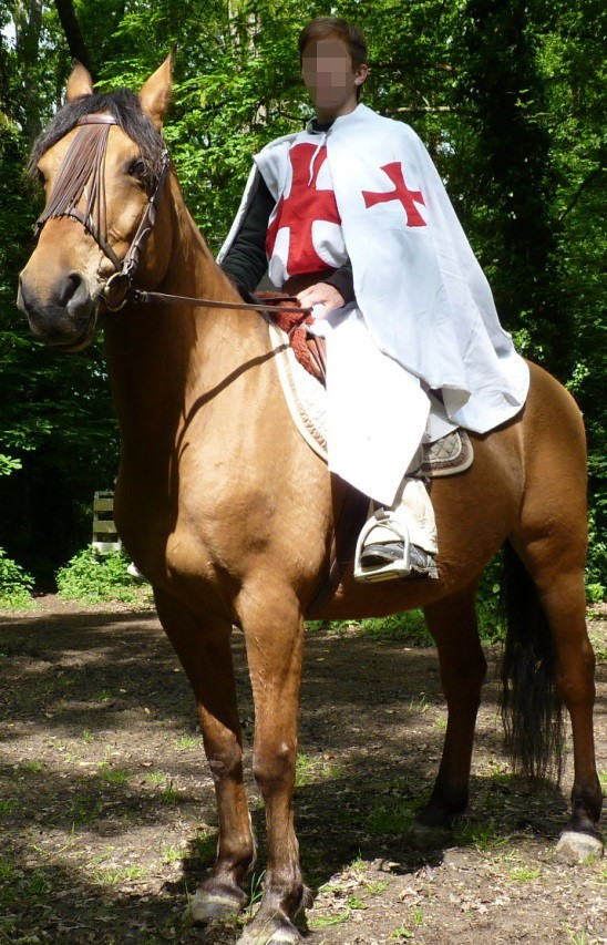 Thibaud the Templar's costume