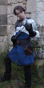 Thumbnail of the Knight of Buxerolles' costume