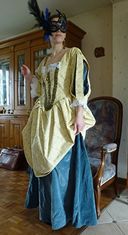 Thumbnail of the Duchess of Aiguillon's costume