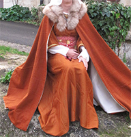 Thumbnail of the lady cape from Middle Ages