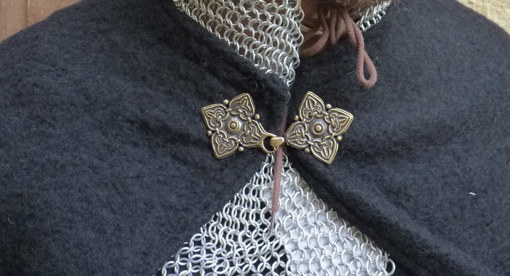 Detail of the knight cloak from Middle Ages