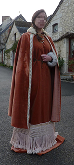 Thumbnail of the Vilhelmine of Normandy's costume