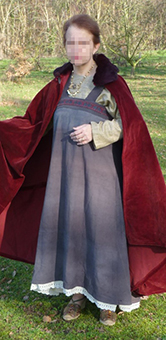Thumbnail of the Gyda the norman lady's costume