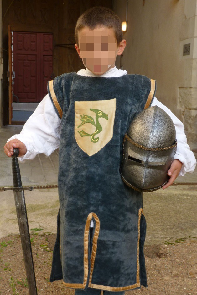 Dragon knight's costume