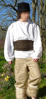 Thumbnail of the Vladimir Russian peasant's costume