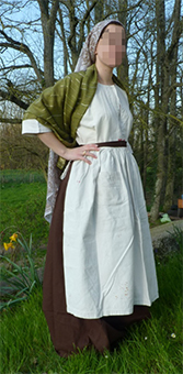 Thumbnail of the Olga Russian countrywoman's costume