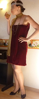 Josephine party dress thumbnail