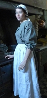 Thumbnail of the Mrs Leonie the cook's costume
